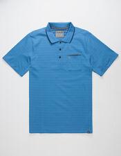 Hurley Dri Fit Knit Polo (M) Blue