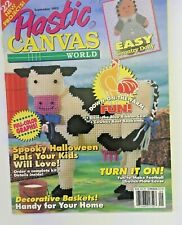 1993 Plastic Canvass Magazine 22 Projects