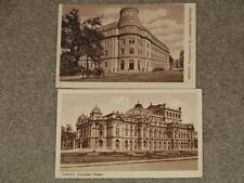 KRAKAU , Theater, Post Office, unused vintage cards