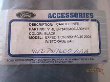 """4L1Z-7811600-AAA FORD OEM""""NEW""""CARGO LINER WITH STORAGE BAG -EXPEDITION-FREE SHPG"""
