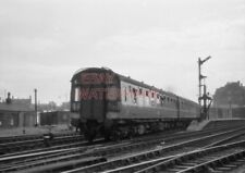 PHOTO  INTER CITY UNIT DEPARTING FROM AYR STATION WITH A SERVICE FOR GLASGOW (ST