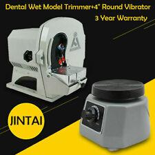 Dental Wet Model Shaping Trimmer Abrasive Disc Wheel 4 Round Vibrator Shaker