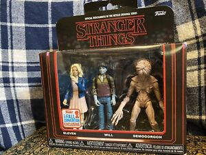 NETFLIX Stranger Things Funko Action Figures Ltd Edition Will, Eleven Demogorgon