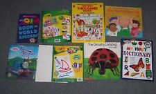 Kid 1st dictionary thousand words Thomas Train Grouch Ladybug color wonder pads