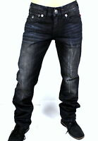 True Religion $349 Men's Ricky Relaxed Straight Super T Jeans M859NZM4 Sz 29x34
