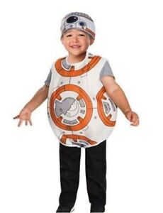 Star Wars BB-8 Costume Dress Up Size 3T-4T The Force Awakens Toddler Disney NEW