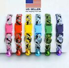 Camo Collar Camouflage Pet Dog Glow Safety Pets Puppy Dog Cat