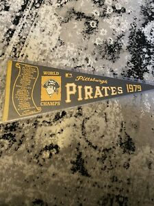 pittsburgh pirates 1979 world champs pennant stargell