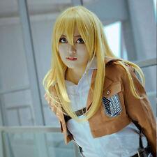 Attack on Titan Krista Lenz cosplay kostüm perücke