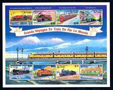 [62209] Congo-Kinshasa 2001 Railway Train Eisenbahn Chemin De Fer Sheet MNH