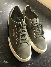 Superga Trainers In Green - Size 42/8