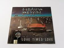 "HEAVY PETTIN "" LOVE TIMES LOVE "" 12 inch VINYL SINGLE 1983 Used"
