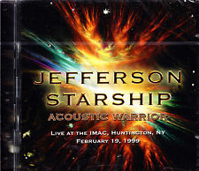 JEFFERSON STARSHIP acoustic warrior live 2CD NEU