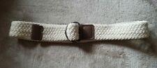 *NEW* Childs Cream Natural Rope Belt Age 7-10