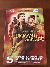 DIAMANTE DE SANGRE - LIMITED EDITION  2 DVD - STEELBOOK - 5 NOMINACIONES OSCAR