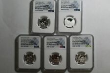 2019-S Silver Quarters Set First .999 Fine Silver Quarters NGC PF 70