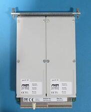 MEN MIKRO F202 CompactPCI/PXICarrier Board w/ x2 M43 8 Relay Output Boards