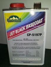 Jet Black cp 5197P PPG DBC 9700 urethane basecoat clearcoat restoration paint