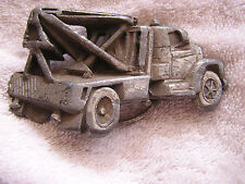 Bergamot Belt Buckle Tow Truck Wrecker 1981