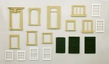 Wills SS42 - Doors & Windows Selection '00' Gauge Plastic Kit -1st Class UK Post