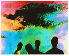 """'Pipeline Aliens' 16x20"""" Hand Colored Unmounted Giclee Initialed By Photographer"""