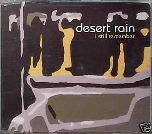DESERT RAIN I Still Remember | Maxi CD
