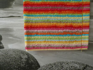 New Cawö Lifestyle 3 Multicolor Towels Cubes Checks Checked