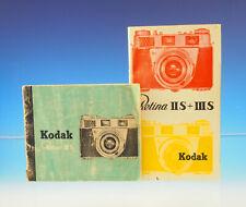 Les modes d'emploi KODAK Retina II S + III S - (30452)