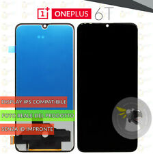 DISPLAY LCD + TOUCH SCREEN PER ONEPLUS 6T A6010 A6013 NERO VETRO DISPLAY 1+6T