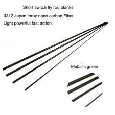 Aventik Short Switch IM12 Japan Toray Nano Carbon Fly Rod Blanks Fast Action NEW