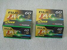 10 x Brand New Fuji DVM60 ME Mini DV 60min SP & 90min LP Digital Video Cassettes