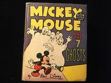 Mickey Mouse And The 7 Ghosts Better Little Book VF+