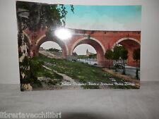 Vecchia cartolina foto d epoca di laterza taranto ponte e santuario mater domini