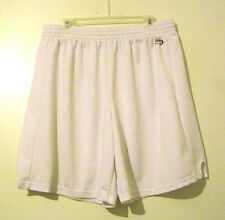 Mens Bike White Athletic Shorts Size XL