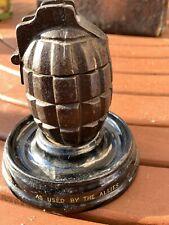 More details for ww1 memorabelia novelty ink well hand grenade