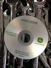 BEST JOHN DEERE 9410 9510 9610 COMBINES SHOP SERVICE REPAIR MANUAL CD TM1701