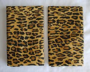 Ralph Lauren Aragon Leopard Print 2 Standard Sz Pillowcase Medieval Animal Print