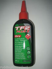 Weldtite TF2 PLUS+ Dry Lube / Lubricant with Teflon Cycle / Bike 125ml
