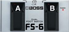 BOSS fs-6 Doppio Pedale per rc-30, Cube 20xl 40xl 80xl amplificatori ETC, NUOVO!