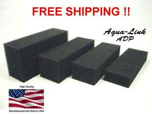 Filter Foam Blocks / Pads  Sponge AQUARIUM SAFE (NO CHEMICAL TREATMENTS)