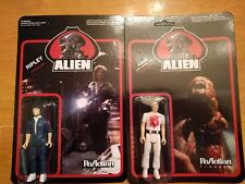Alien ReAction RIPLEY and KANE (with chest buster) Funko Pop Action Figure Toy