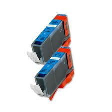 2 CYAN Ink Cartridge for Canon Printer CLI-221C MP640 MX860 MX870