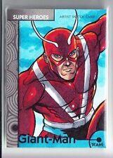 2013 Marvel Fleer Retro Giant-Man Sketch Card by Rich Molinelli (1/1)