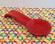 Fiestaware Scarlet Spoon Rest Fiesta Red Spoonrest
