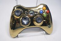 Microsoft Xbox 360 Wireless Star Wars Gold Chrome Special Edition Controller
