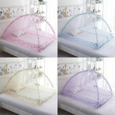 90x120CM Foldable Mosquito Net Baby Infant Bed Portable Canopy Prevent  UK AU1