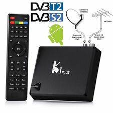 K1 Plus DVB-S2 / T2 Android 7.1 Combo TV Box Amlogic S905 IPTV WiFi 64bit