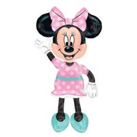 "Minnie Mouse 54"" Jumbo Airwalker Foil Balloon Party Decorating Supplies"