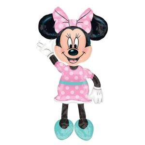 """Minnie Mouse 54"""" Jumbo Airwalker Foil Balloon Party Decorating Supplies"""
