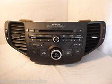 09-11 ACURA TSX Radio Stereo MP3 Code CD 1XA3 Premium Audio 39100-TL2-A000 B0376